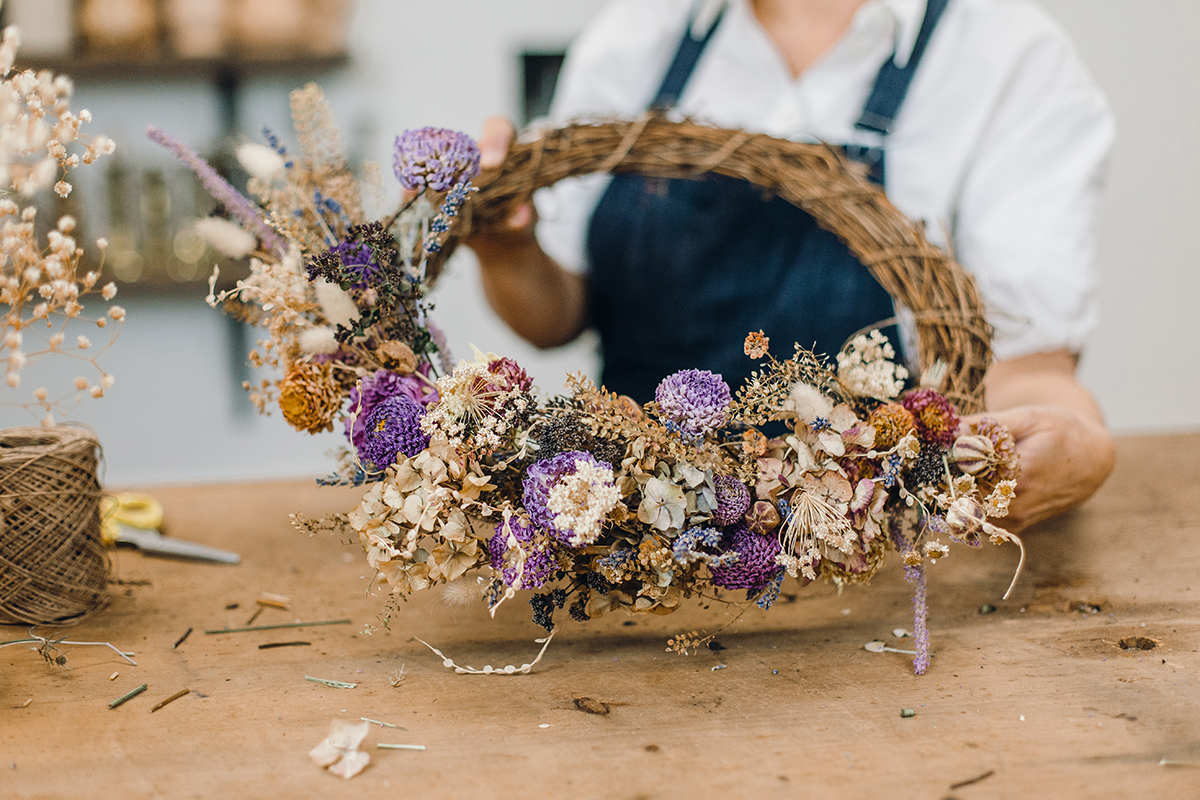 Everlasting Wreath Workshop course image
